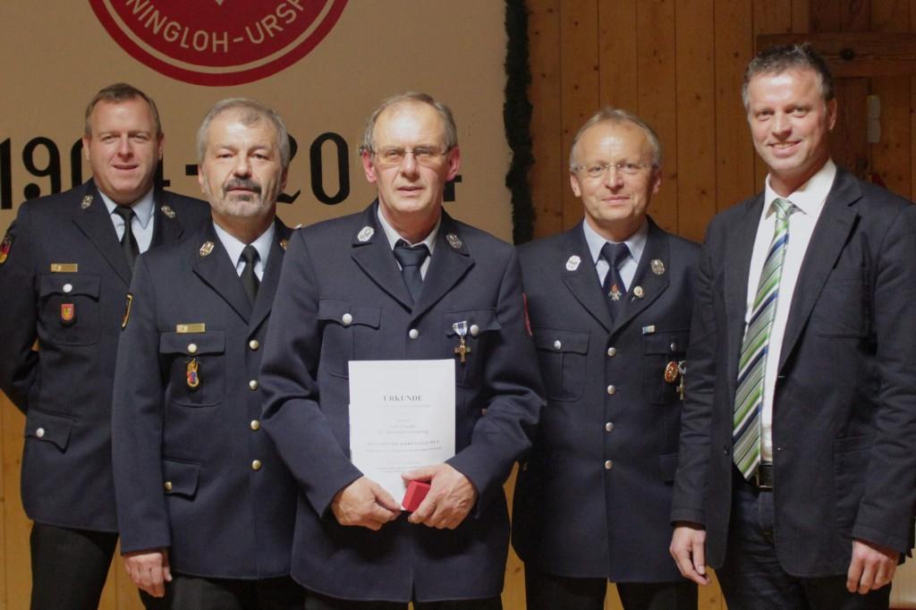FW Steiningloh-Urspring - Ehrung Dotzler - 10-2014